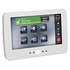 PowerSeries NEO Security System Touchscreen Keypad