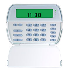 PowerSeries Security System 64-zone LCD Icon Keypad
