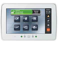 PowerSeries Security System Touchscreen Keypad